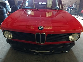 Red BMW Restore | Kadunza